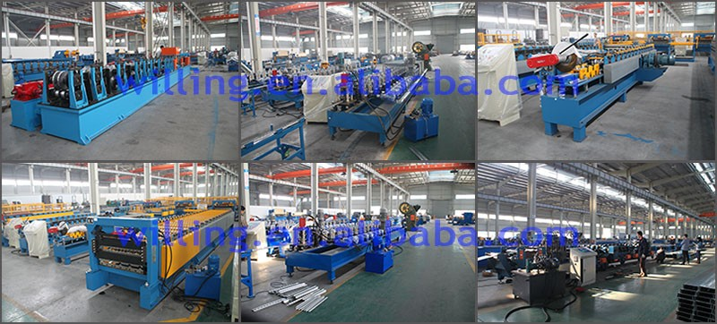 color galvanized steel roof tile mental cold roll forming machine