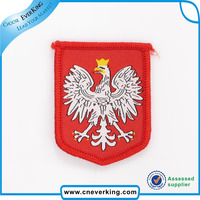 Handmade any design and size welcome Feature eagle woven patch