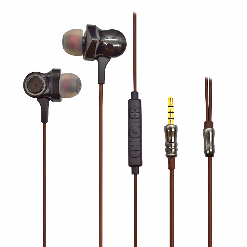2018 Newest Triple Drivers wired communication High Fidelity Sound Stereo hifi Earphones