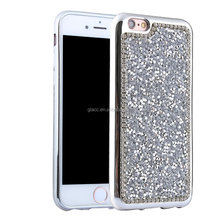New arrival! glitter diamond full cover case hard electroplating pc shockproof case for Iphone5/5/ /6/6s,hot selling phone case