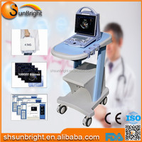 Trolley Type Medical Doppler CE Approved 3D Echo Color Doppler