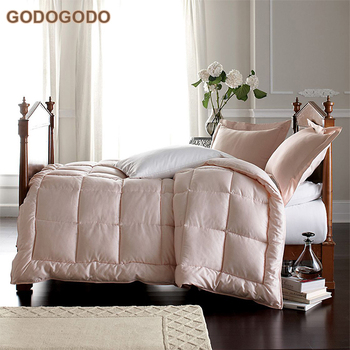 Wholesale King Size Patchwork Goose Down Cotton Cover Quilt Duvet Made In China