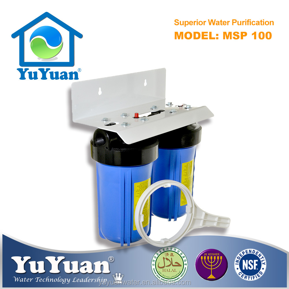 Whole House 5 stage reverse osmosis Carbon Water Filter System With Bracket