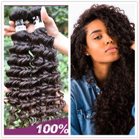 Mona hair offer indian malaysian brazilian peruvian virgin curly hair weaving