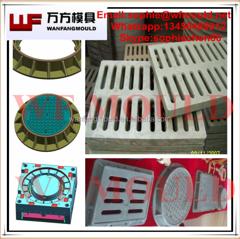 OEM Custom Drain Manhole cover mould/Custom Design Cable Protection manhole cover mould/Rain manhole cover mould