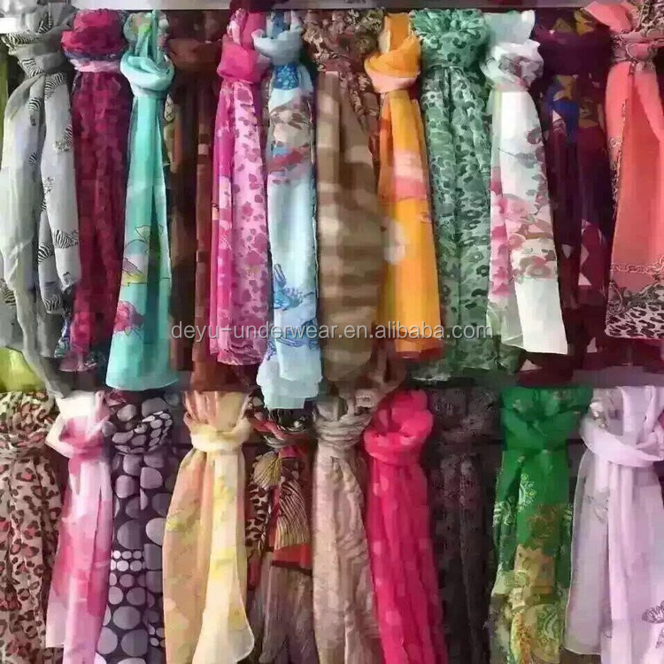 0.54USD High Quality Wholesale Fashional Assorted Ladies <strong>Scarf</strong>(gdzw002)