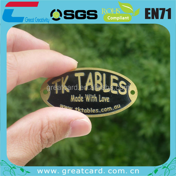 wholesale copper nameplate