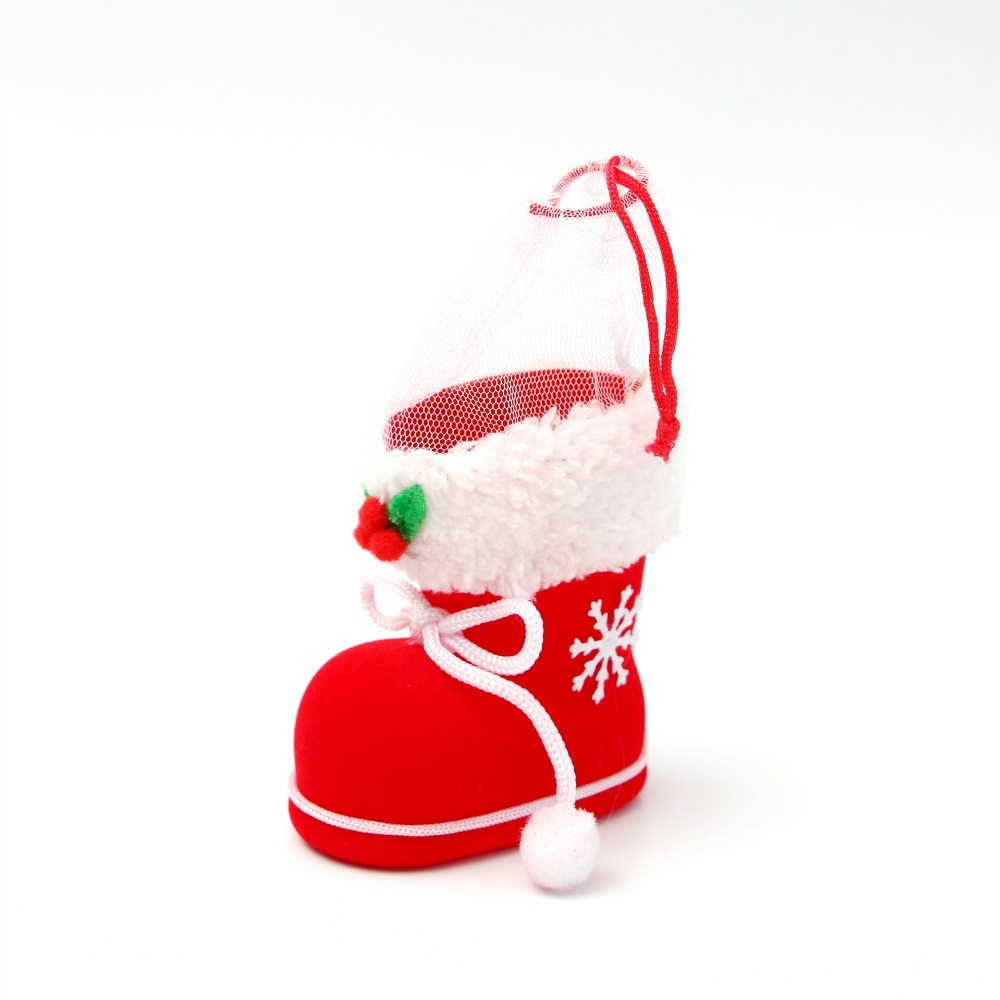 Christmas Tree Decoration Hanging Ornaments Small Boots Christmas Gift
