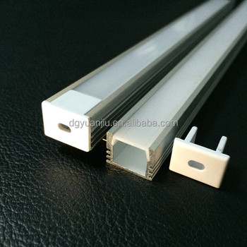 YJ-1612 led strip light housing / led aluminum extrusion housing / led light aluminum channel