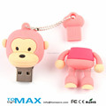 hot sale cartoon monkey promotional USB Stick Key wholesale alibaba