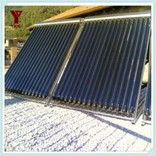 solar energy vacuum solar collector heating system for solar swimming pool heating