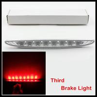 Clear Lens Brilliant Red 8-LED High Mount Third 3rd Brake Light For MINI Cooper 02-06 R50 R53 led brake reverse light