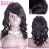 China supplier peruvian hair side part lace front wig cheap lace front wigs with baby hair