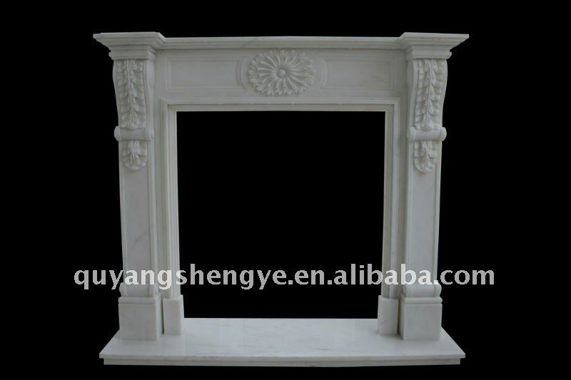 Chimney flue pipe fireplace mantel back panel