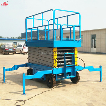 China CE mobile electric scissor lift hydraulic for sale