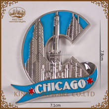 wholesale popular tourist souvenir custom fridge magnets