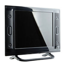 "15"" lcd tv red television set"