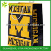 Michigan Wolverines foil lined paper food packaging bag