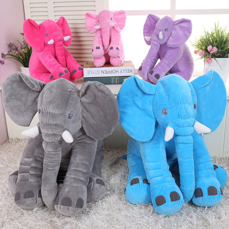Hot sell 2019 cute plush toy Comfort pillow to sleep with baby