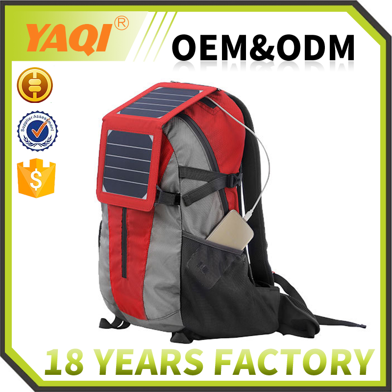 40L Polyester mini style camel mountain solar bag pack