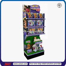 TSD-M366 Custom toy store floor standing display units,supermarket display ideas,supermarket goods display