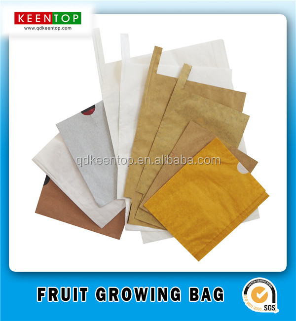 Banana mango grape apple wax coated fruit protective paper bag
