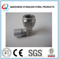 stainless steel compression fitting Instrumentation tube fitting ,female connector