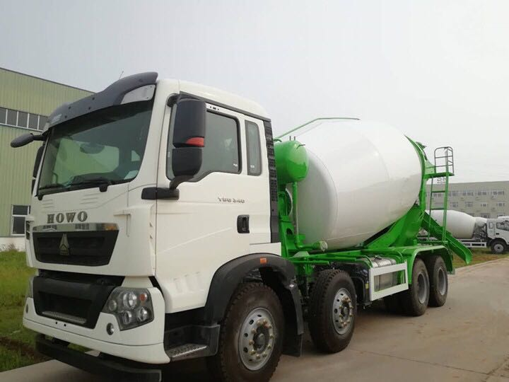 China manufacture self loading concrete mixer truck for sale