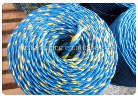 Plastic Baler Twine Can be Used on Any Properly Adjust Baler Without Modifications