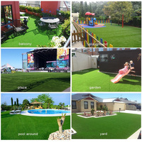 Beautiful Fake Turf Artificial Lawn For Pet Activity Area