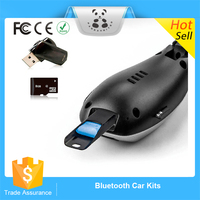 New 2016 Wireless Stereo Bluetooth 4.0 Handsfree Speaker phone Car Kit With USB Charger Hands Free Bluetooth Car Kit