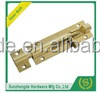 Wooden Window Door Bolt with Hole,Hardware Accessories , Brass Door Surface Bolt Latch Lock