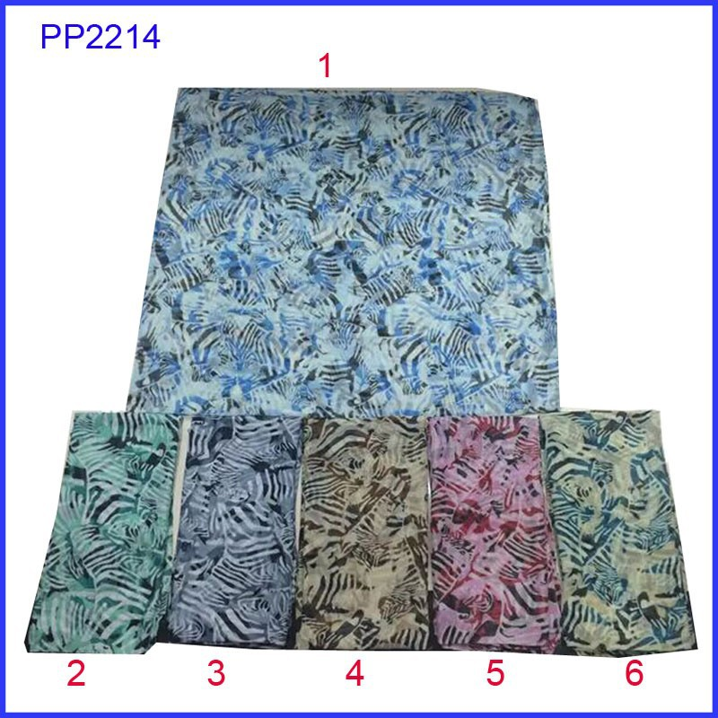 Beautiful jazzy print women scarf hijab for wholesale