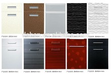 mdf melamine cabinet door and drawer front board