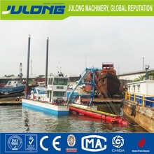 14 inches Separable High quality Diesel Sand Dredger Boat, Suction Dredger for sale with low price in the river