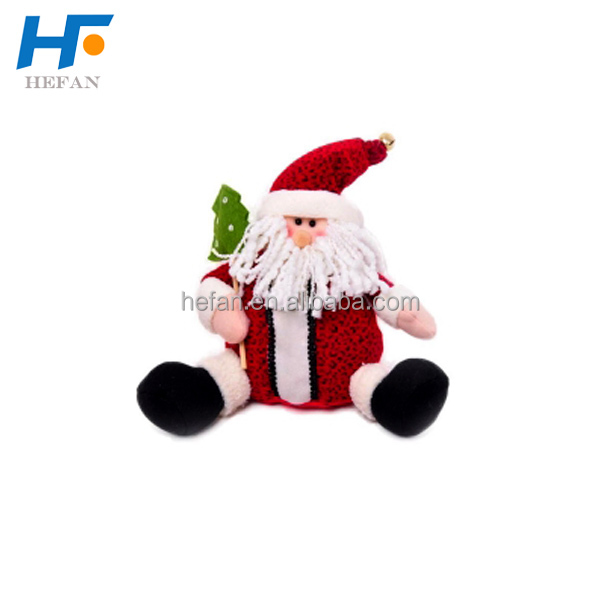 Stuffed Christmas Toy Plush Santa Claus