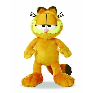 High quality soft plush toy yellow cat doll as gift for kids