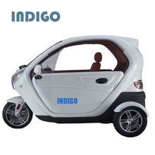 Cargo Street Legal Three Wheel Car with Leather Suit