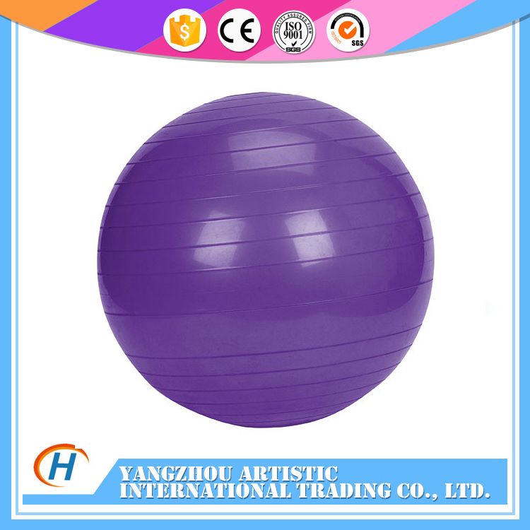 Exercise Stability Anti Burst custom printed wholesale yoga ball for Muscle Relax