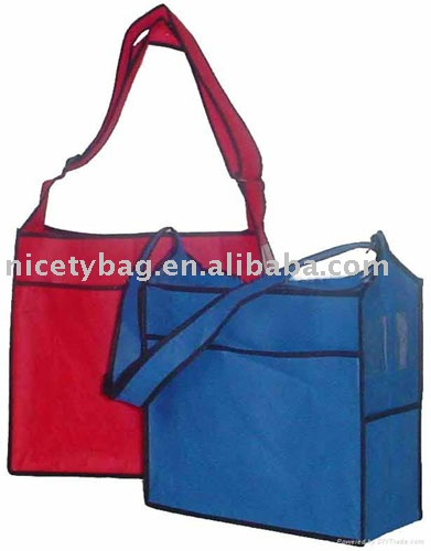 High quality of non woven shoulder bags(NWS 004)