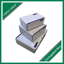 new goods biodegradable corrugated paper package box carton