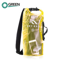 Sack Swimming Tarpaulin Pvc Tarpaulin Waterproof Dry Bag Transparent