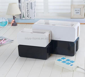 Multi Power Plug Socket Anti-dust Storage box / Power Lines Electric Wires Storage Organizer / cable box