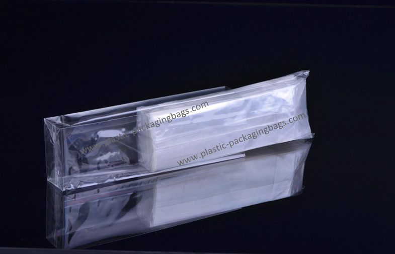 OPP Clear Block Bottom Cello Bags Food Grade