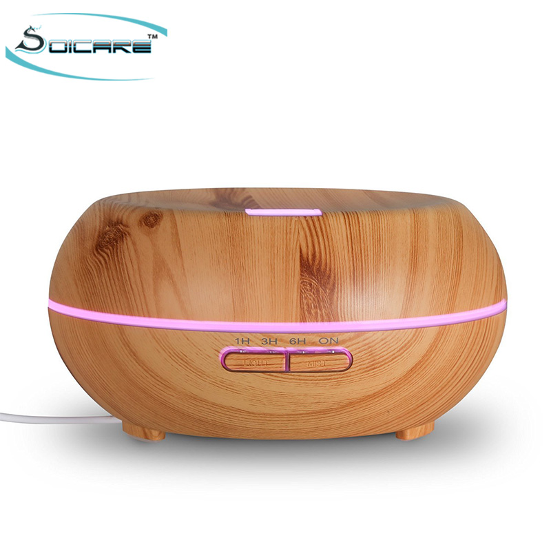 200 ml new wood <strong>electric</strong> air essential oil defuser ultrasonic aroma diffuser