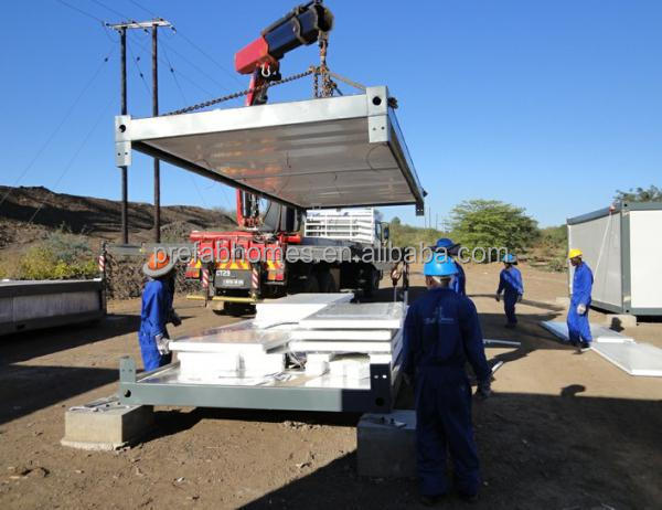 Container Frame for accommodation