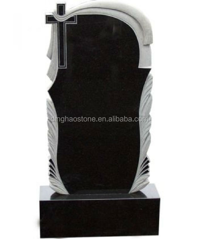 Shanxi Black Granite Celtic Cross Headstones