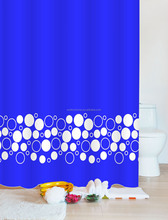 Colorful Textile fabric Polyester bath shower windows curtain
