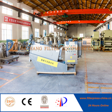 2017 Dazhang Sludge Dewatering Screw Stainless Steel Filter Press