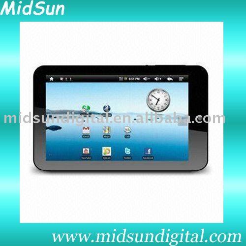 tablet pc mid umpc capacitance touch screen built in 3G and GPS windows xp 7 sim card slot GSM call phone